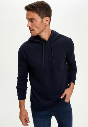 REGULAR FIT - Hoodie - navy