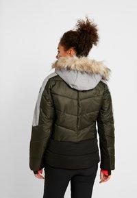 Icepeak - ELECTRA - Snowboard jacket - dark green - 2
