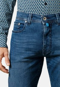 Pierre Cardin - LYON TAPERED - Jeans Tapered Fit - blue - 1