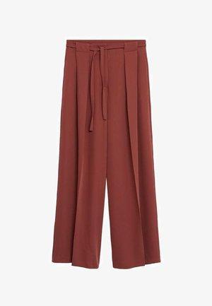 ARES-I - Trousers - bräunliches orange