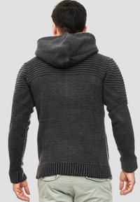 INDICODE JEANS - Zip-up hoodie - anthracite - 2