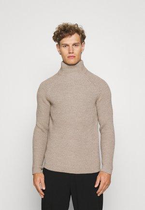 ARVID - Stickad tröja - braun