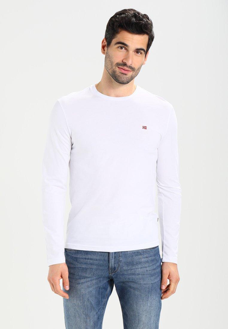 Napapijri - SENOS LS - Långärmad tröja - bright white