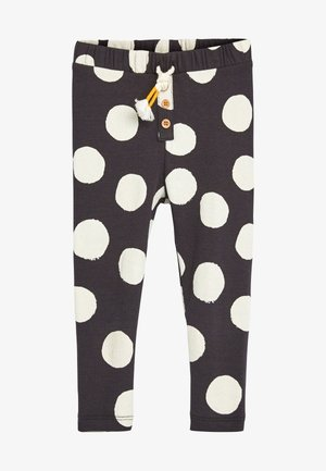 Leggings - Trousers - mottled black