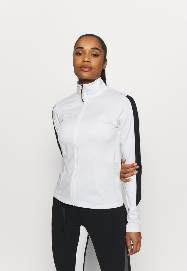 ELLEN - Fleece jacket - blanc