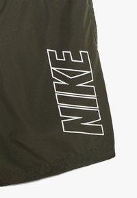Nike Performance - DRY ACADEMY SHORT - Pantaloncini sportivi - khaki/white - 3