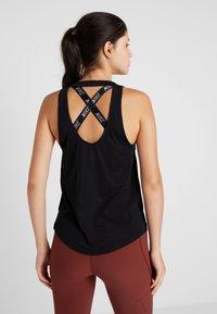 Nike Performance - MILER TANK BREATHE - Sports shirt - black/reflective silver - 2