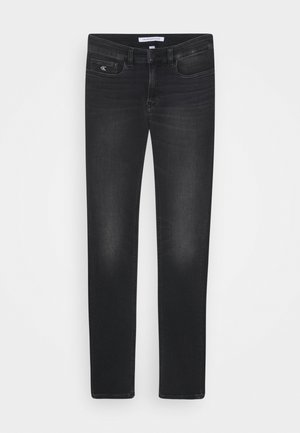 SKINNY ATHLETIC WASH - Jeans Skinny Fit - black