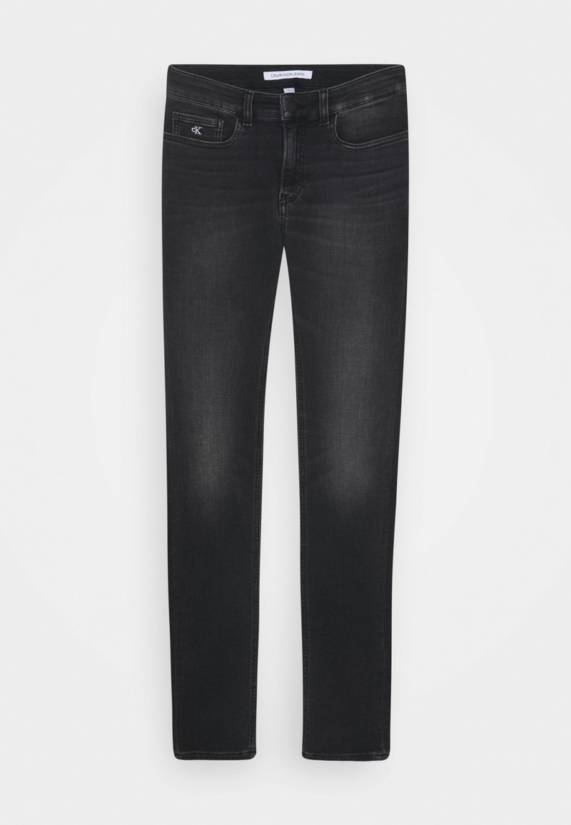 Calvin Klein Jeans - SKINNY ATHLETIC WASH - Jeans Skinny Fit - black