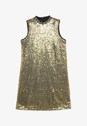 JUNIOR FULL SEQUINS DRESS