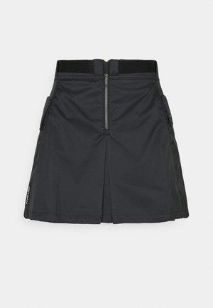 NEXT UTILITY SKIRT - Mini skirt - black/black/white