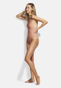 Seafolly - ESSENTIALS RETRO TANK MAILLOT - Swimsuit - rose sands - 1