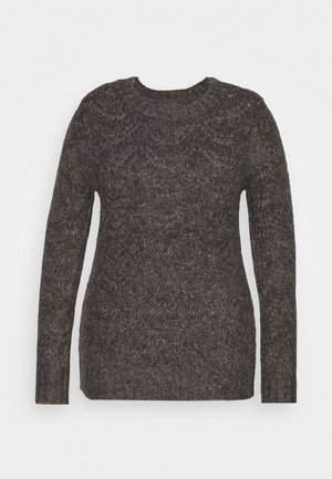 PCMBIBI  - Jumper - dark grey melange