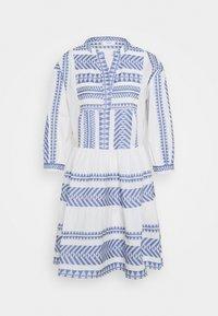 Marc O'Polo DENIM - WOVEN DRESSES - Day dress - White/ blue - 0
