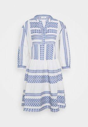 WOVEN DRESSES - Day dress - White/ blue