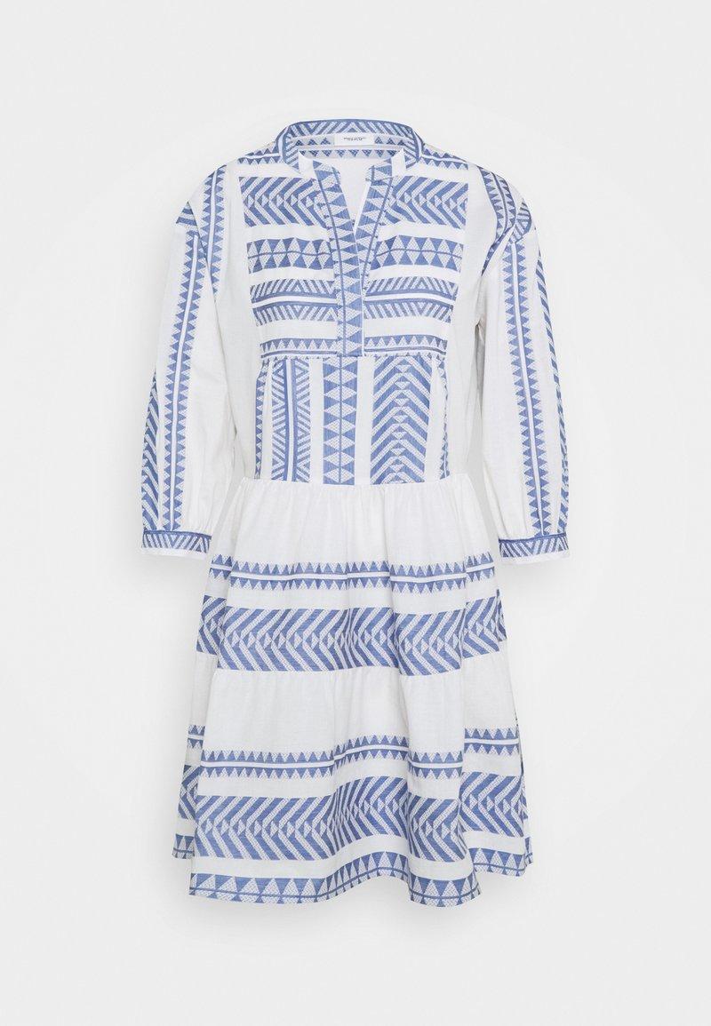 Marc O'Polo DENIM - WOVEN DRESSES - Day dress - White/ blue