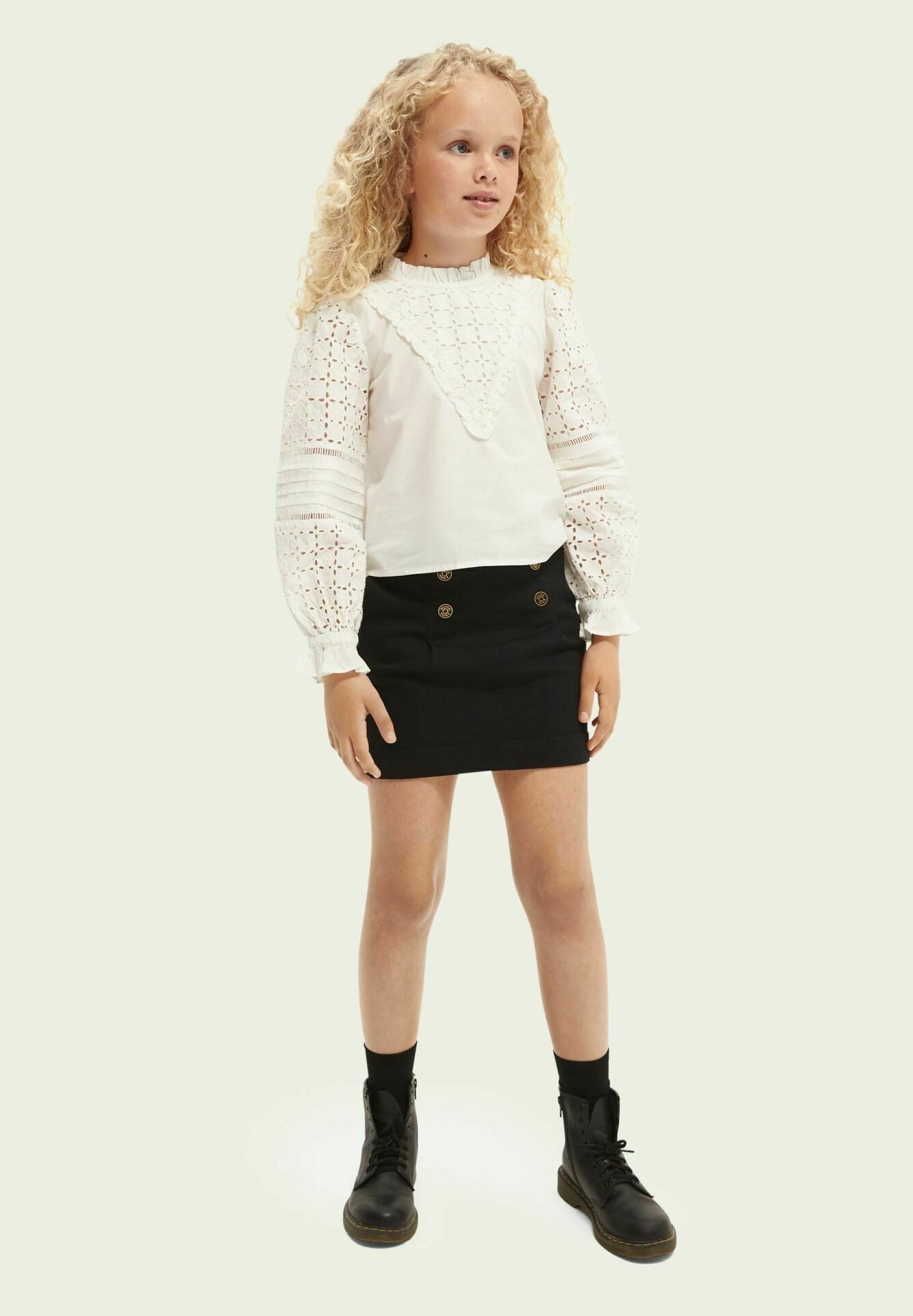 Kinder BRODERIE ANGLAISE - Bluse