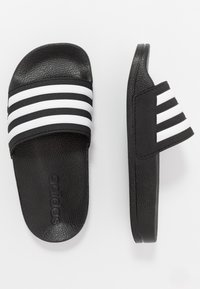 adidas Performance - ADILETTE SHOWER UNISEX - Badslippers - core black/footwear white - 1