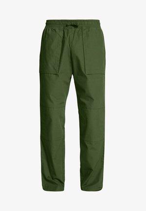 NOAH WORKER TROUSERS - Bukser - khaki green