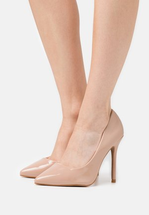 High Heel Pumps - beige