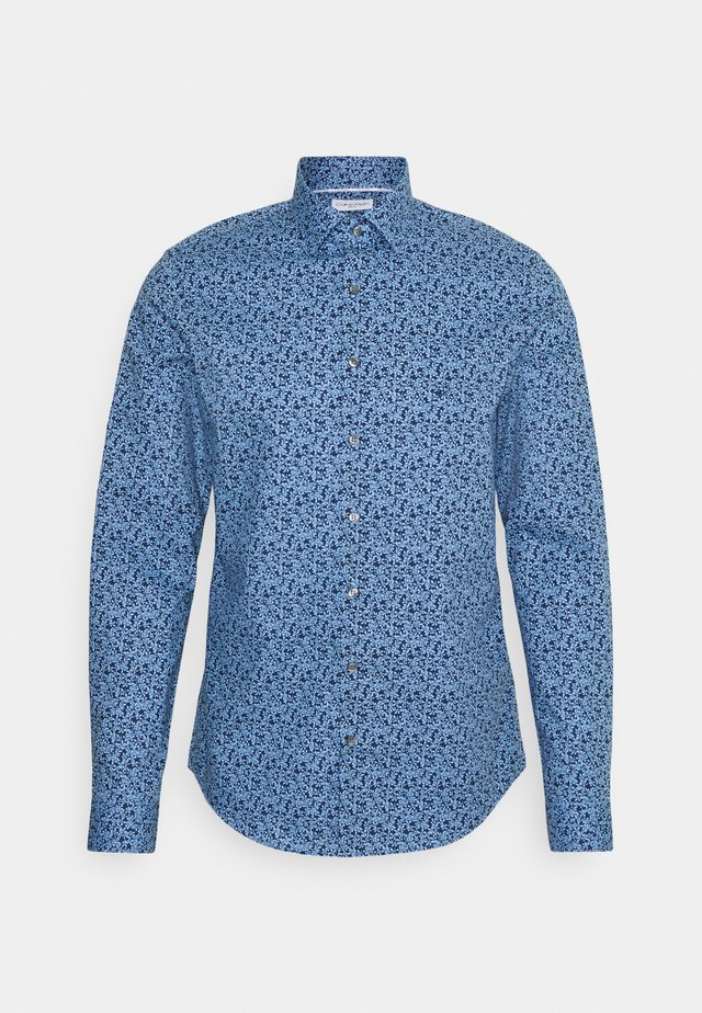 FLOWER SLIM SHIRT - Košile - blue