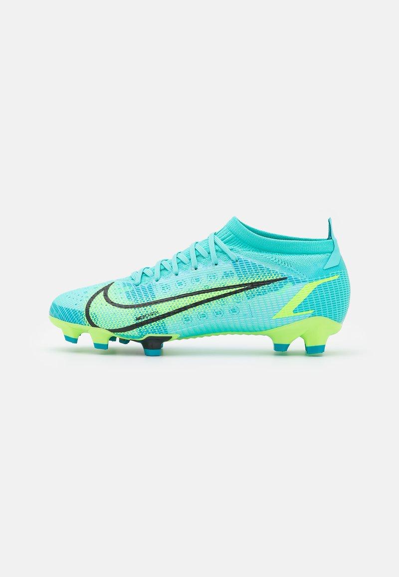 Nike Performance - MERCURIAL VAPOR 14 PRO FG - Kopačky lisovky - dynamic turqoise/lime glow