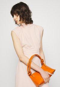 Closet - HIGH NECK MIDI A-LINEDRESS - Day dress - blush - 3