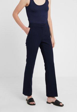 Spodnie materiałowe - navy