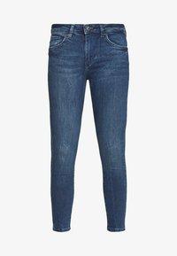 Vero Moda Petite - VMTERESA MR JEAN  - Jeans Skinny Fit - dark blue denim - 4