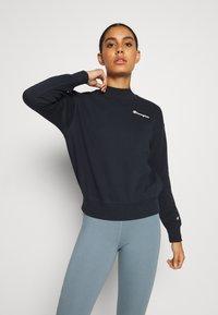 Champion - HIGH NECK LEGACY - Sweatshirt - navy - 0