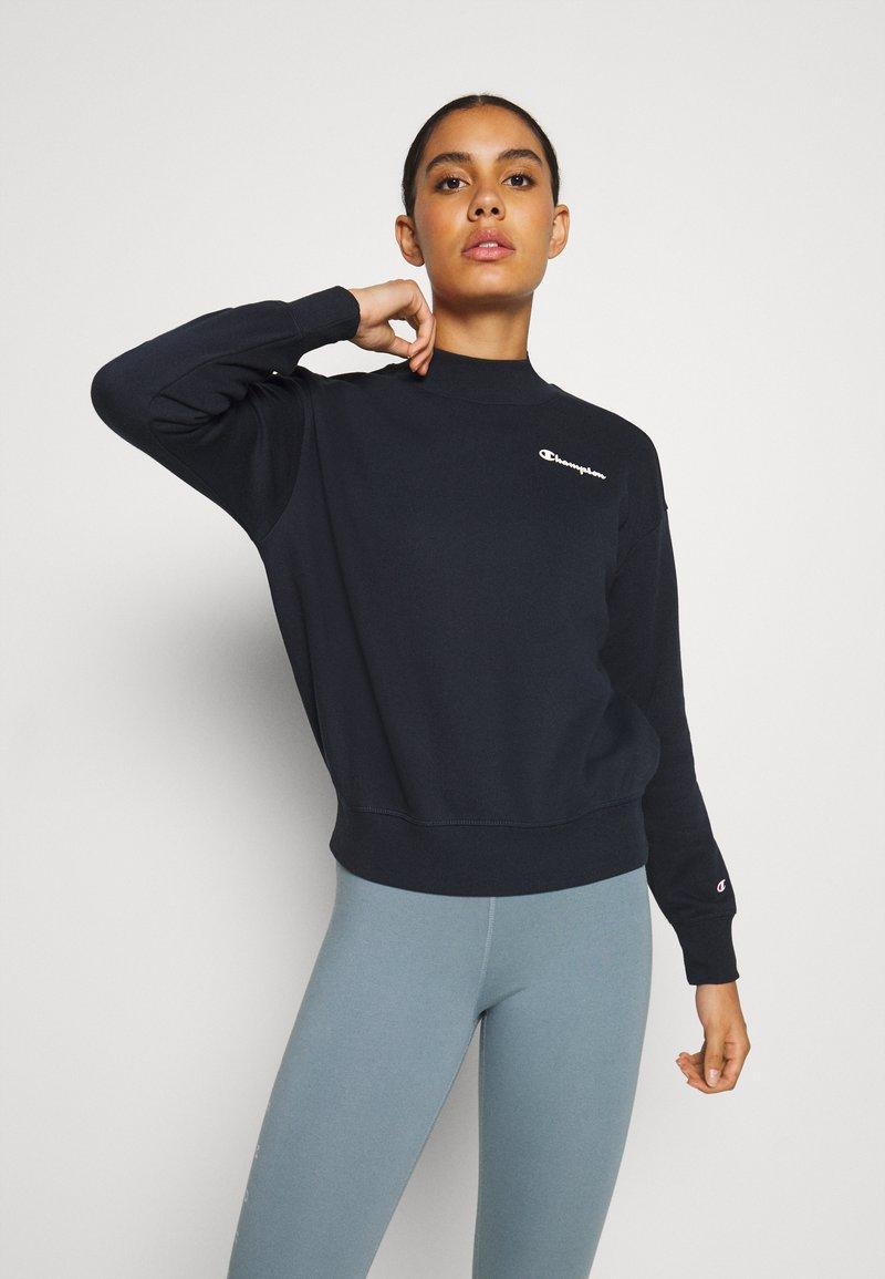 Champion - HIGH NECK LEGACY - Sweatshirt - navy