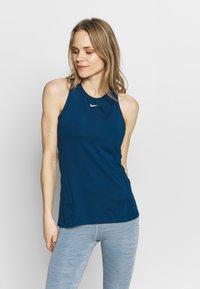Nike Performance - TANK ALL OVER  - Funktionstrøjer - valerian blue - 0