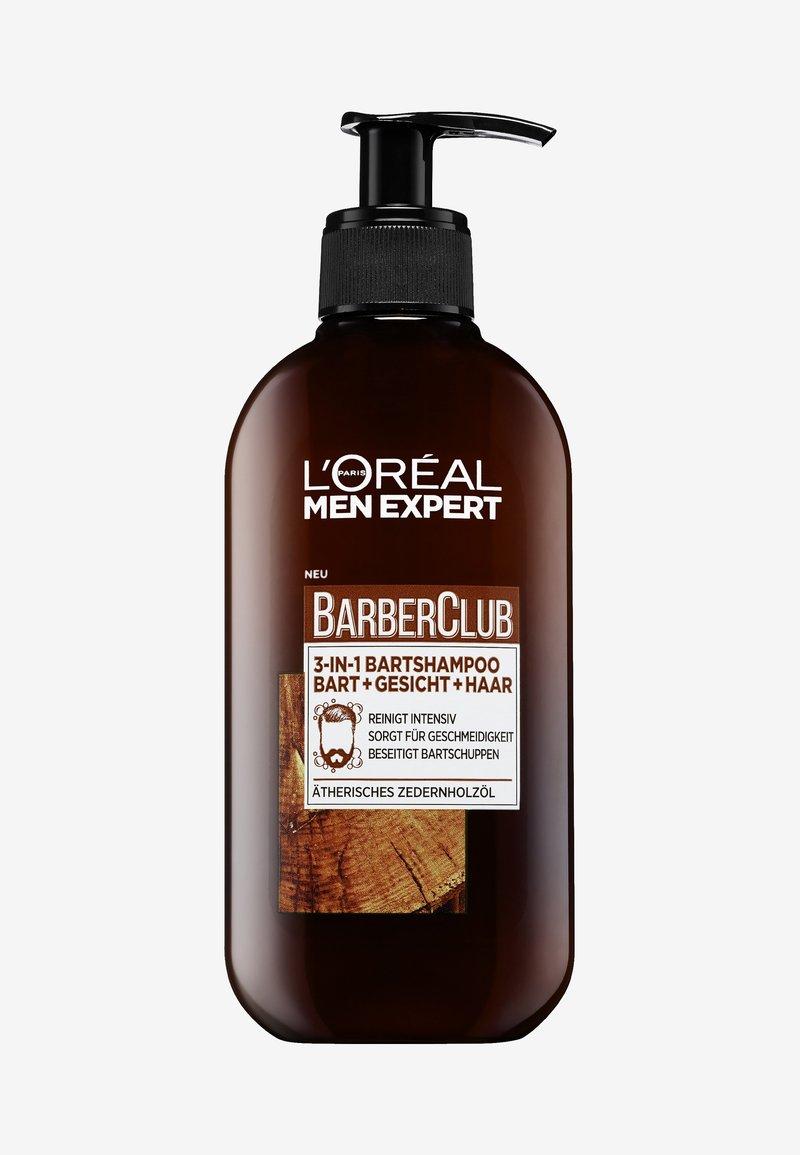 L'Oréal Men Expert - BARBER CLUB 3IN1 SHAMPOO - Bart-Shampoo - -