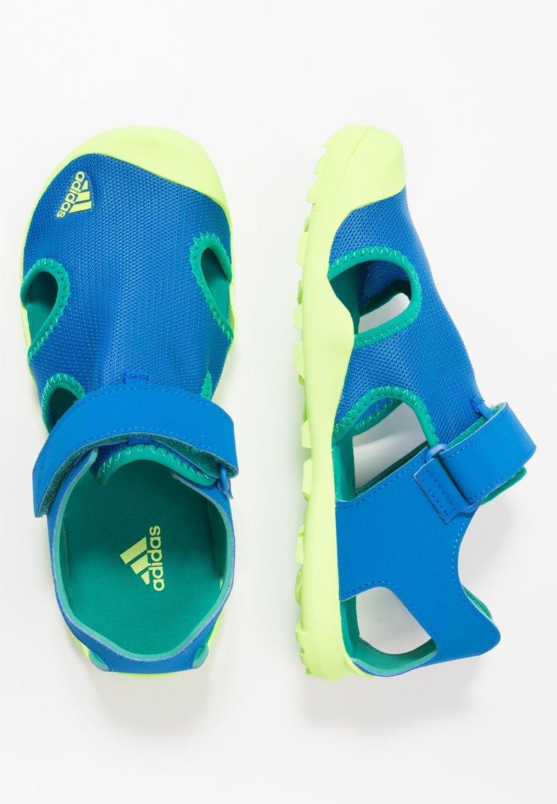 adidas Performance - TERREX CAPTAIN TOEY UNISEX - Chodecké sandály - glow blue/signal green