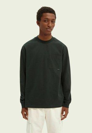 Långärmad tröja - sea green