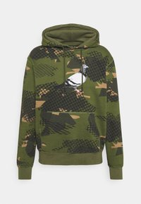 WIRE PIGEON HOODIE UNSIEX - Jersey con capucha - olive