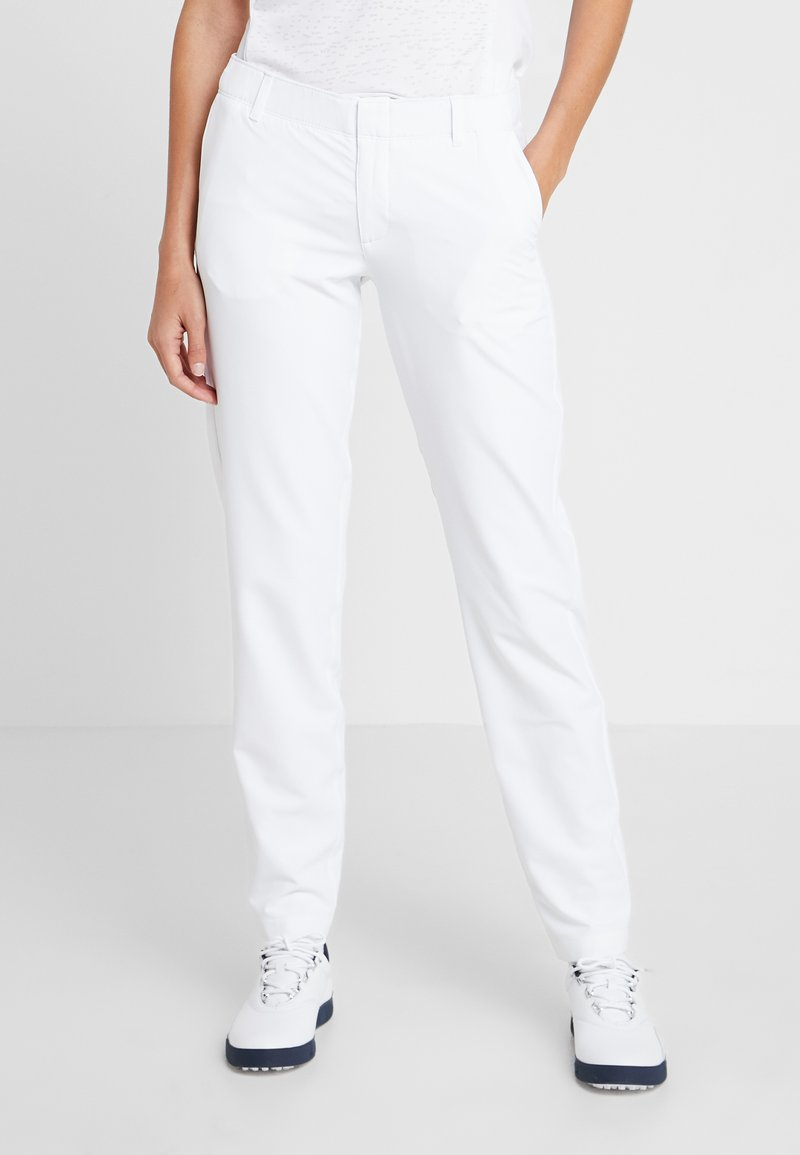 Under Armour - PANT - Outdoor trousers - white/mod gray