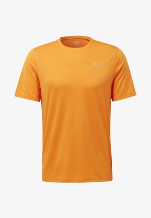 NIGHT RUN SHIRT - T-shirts basic - orange