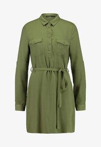 Cotton On - TAMMY LONG SLEEVE DRESS - Abito a camicia - khaki - 3