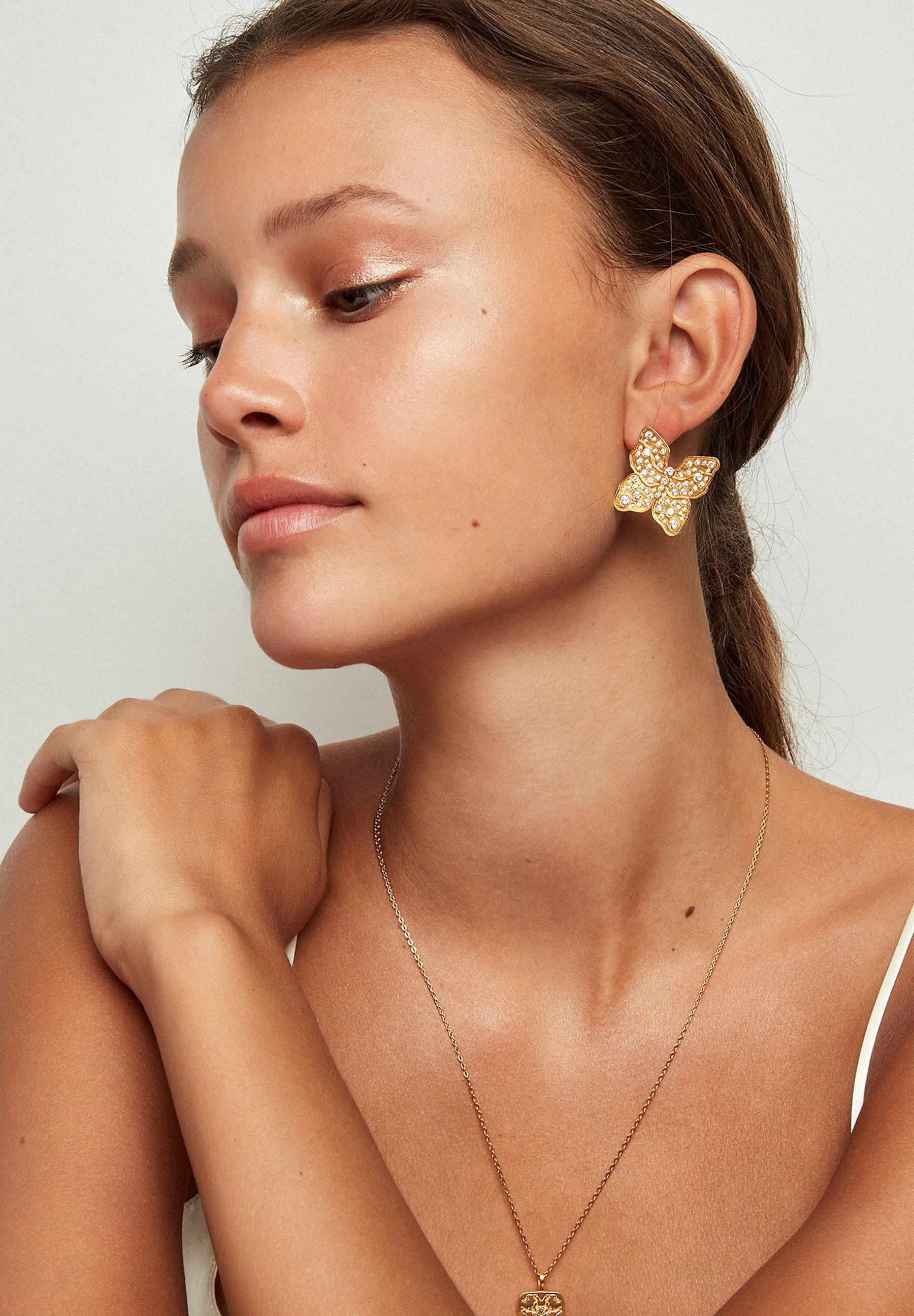 Donna Single earring - The Butterfly - Orecchini