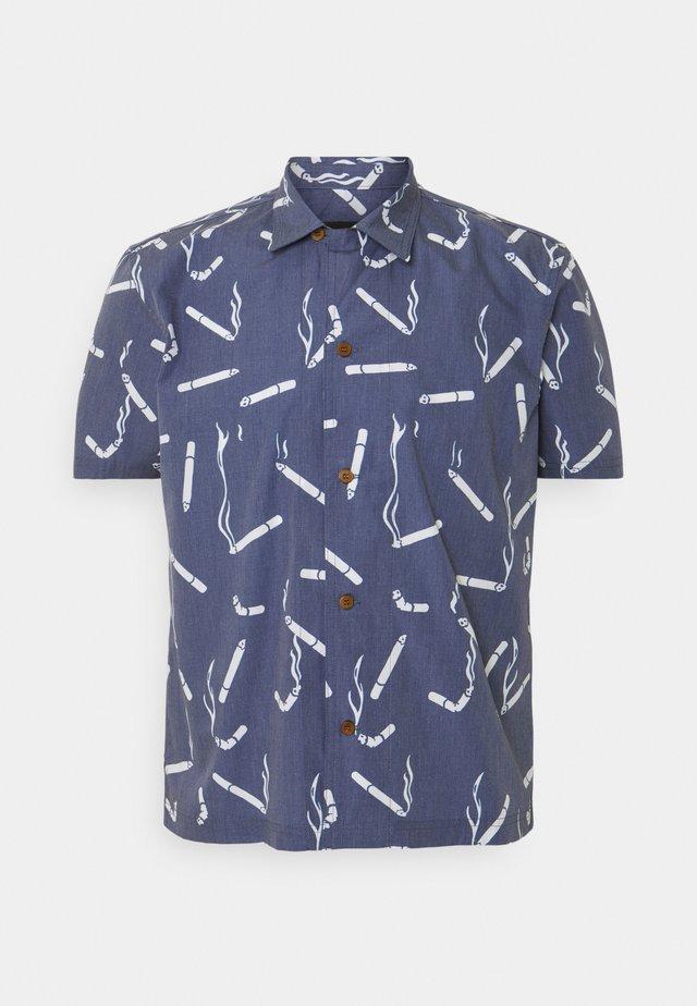 HAWAIIAN DANDY CIGARETTE - Shirt - navy