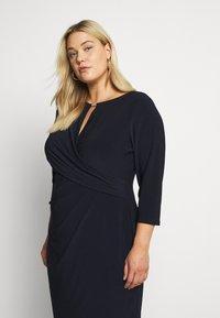 Lauren Ralph Lauren Woman - CARLONDA-LONG SLEEVE-DAY DRESS - Sukienka letnia - lighthouse navy - 4