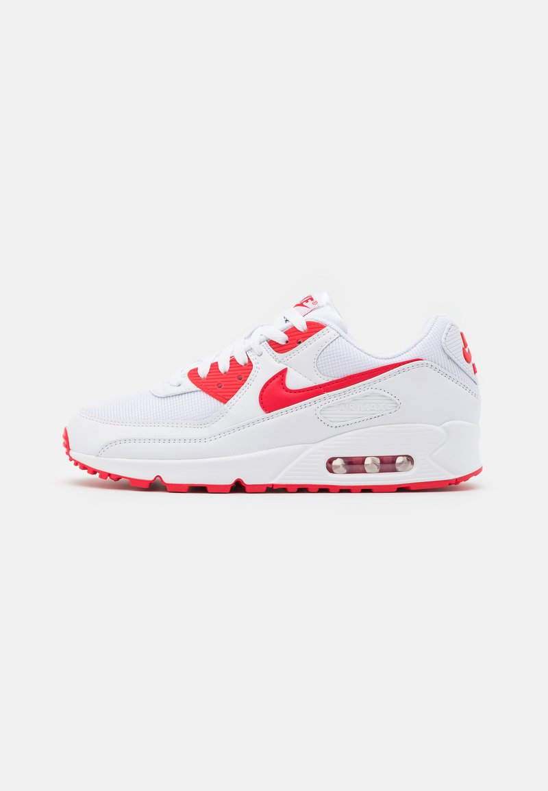 Nike Sportswear - AIR MAX 90 - Zapatillas - white/hyper red/black