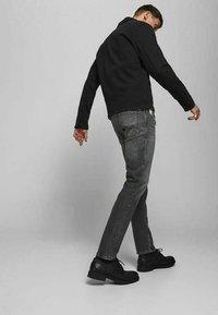 Jack & Jones - TIM  - Slim fit jeans - black denim - 3