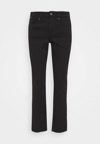 4311 MOTO HIGH STRAIGHT WMN - Jeans straight leg - black