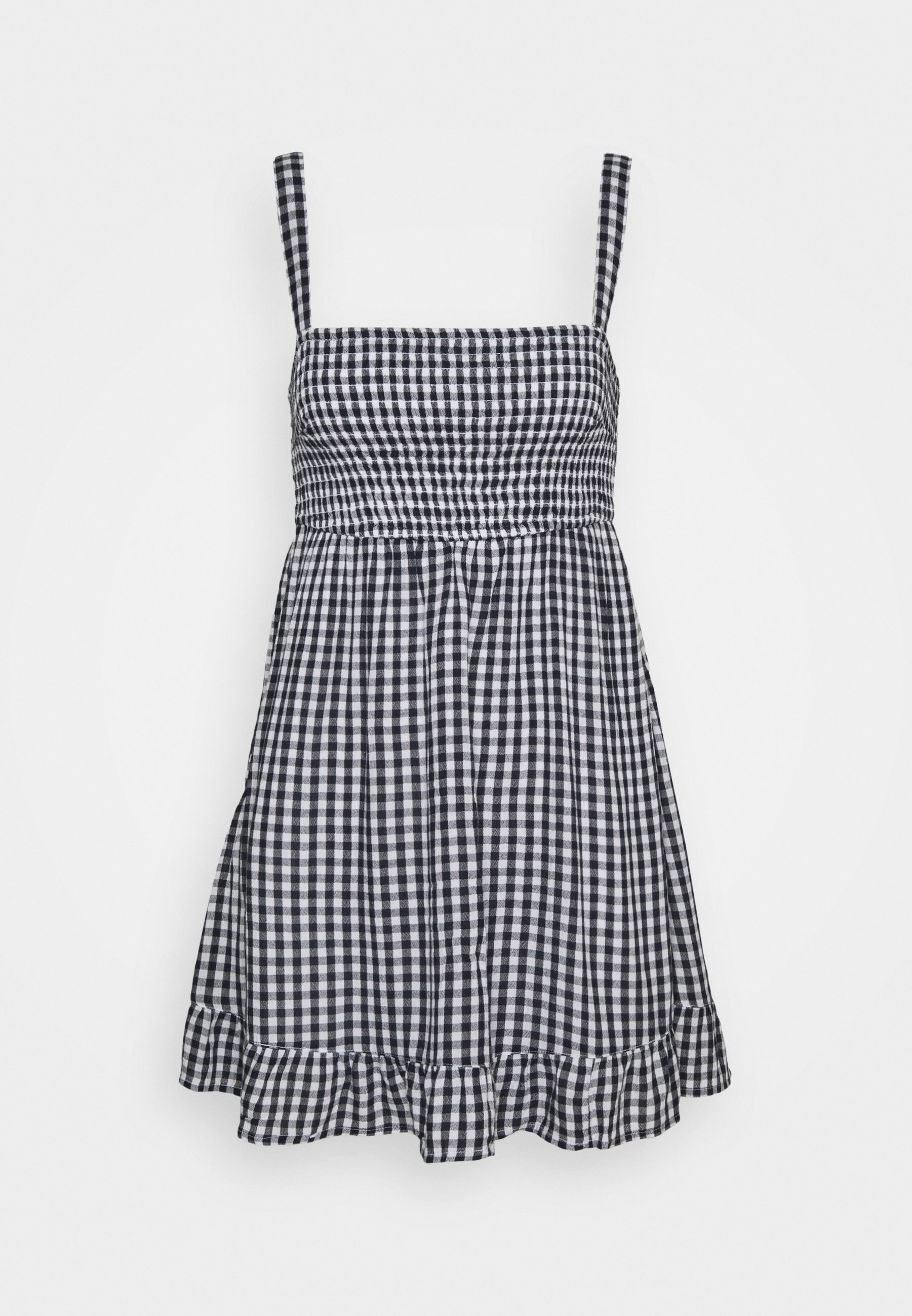 Women SMOCKED BABYDOLL SHORT DRESS - Day dress
