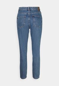 ONLY - ONLJAGGER LIFE HIGH MOM ANKLE - Jeans Tapered Fit - medium blue denim - 1