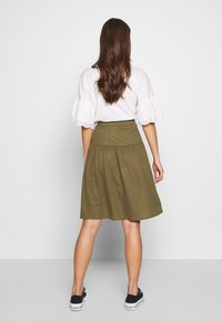 Object - OBJTHELMA SKIRT - A-Linien-Rock - burnt olive - 2