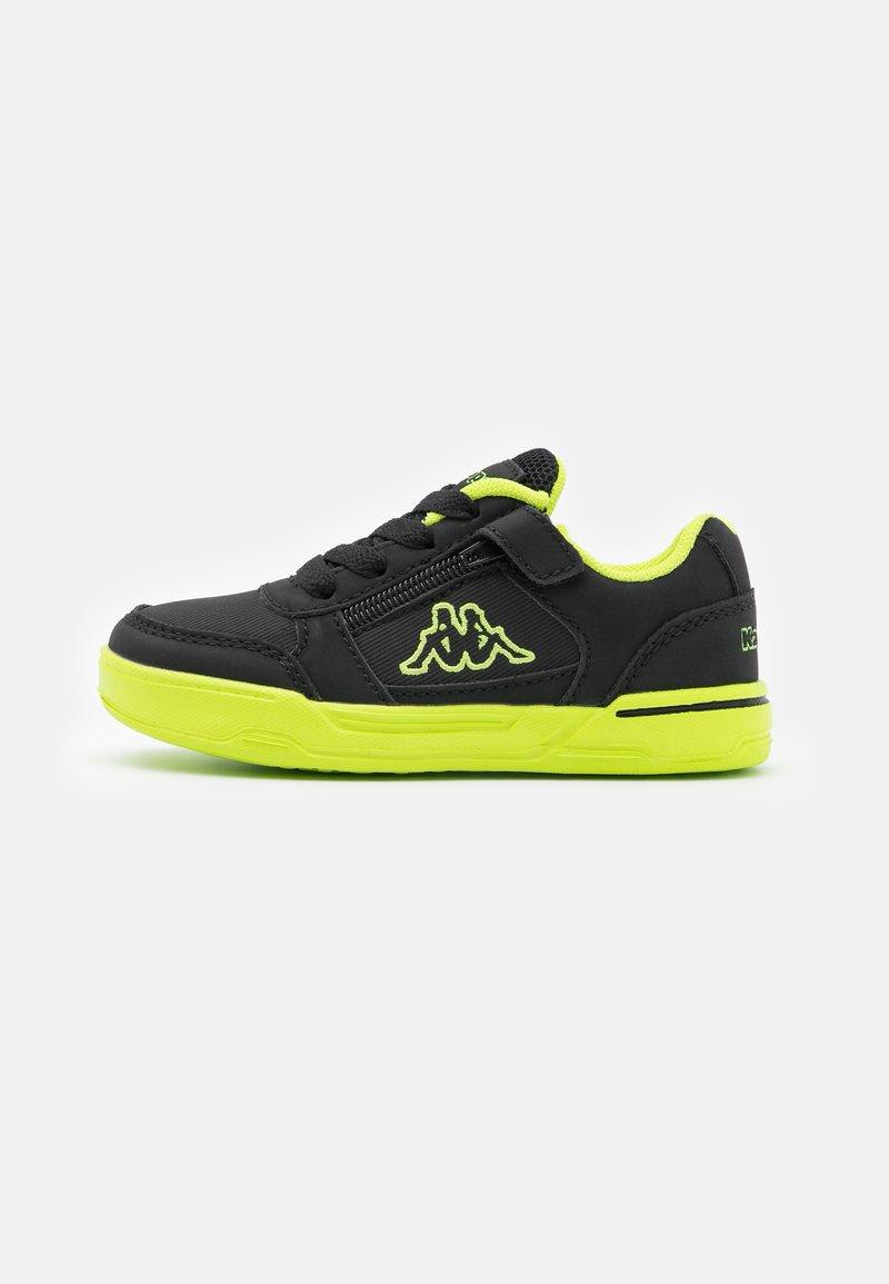 Kappa - UNISEX - Sports shoes - black/lime