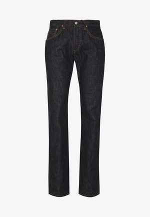 REGULAR TAPERED - Jean droit - raw statenihon menpu, dark pure indigo rainbow selvage, 13.5oz